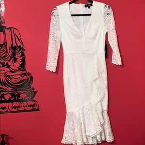 Laced dress